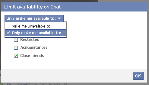 how to close chat windows in facebook