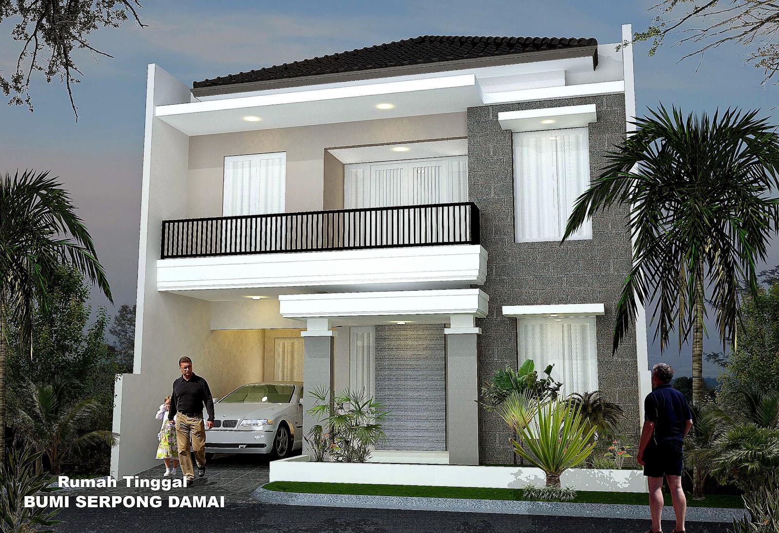 Foto Model Denah Desain Rumah amp Ruko Minimalis 1 2 Lantai