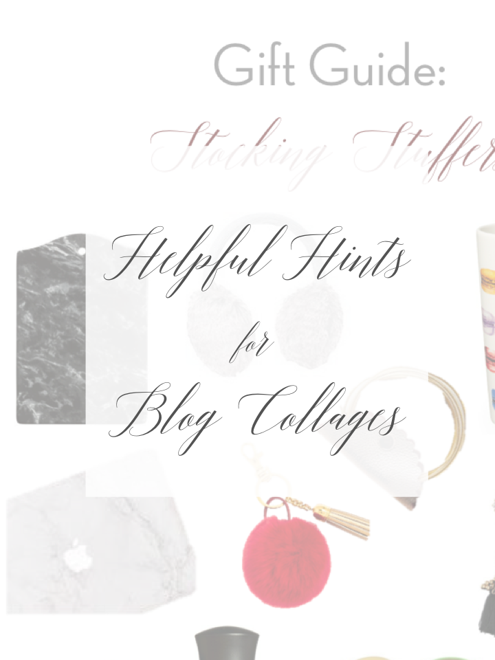 How to make blog collages