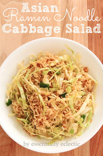 Asian Ramen Noodle Cabbage Salad