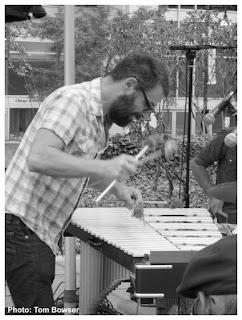 Jason Adasiewicz - Vibraphone | MCA Chicago Free Jazz Tuesdays| Photograph by Tom Bowser