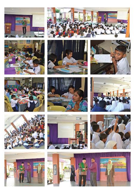 Sambutan Maulidur Rasul Peringkat Sekolah 2014 SK Petaling 1