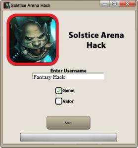 Solstice Arena Game Hack