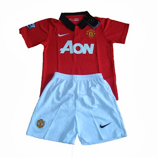 Manchester United Jersey Kids Home