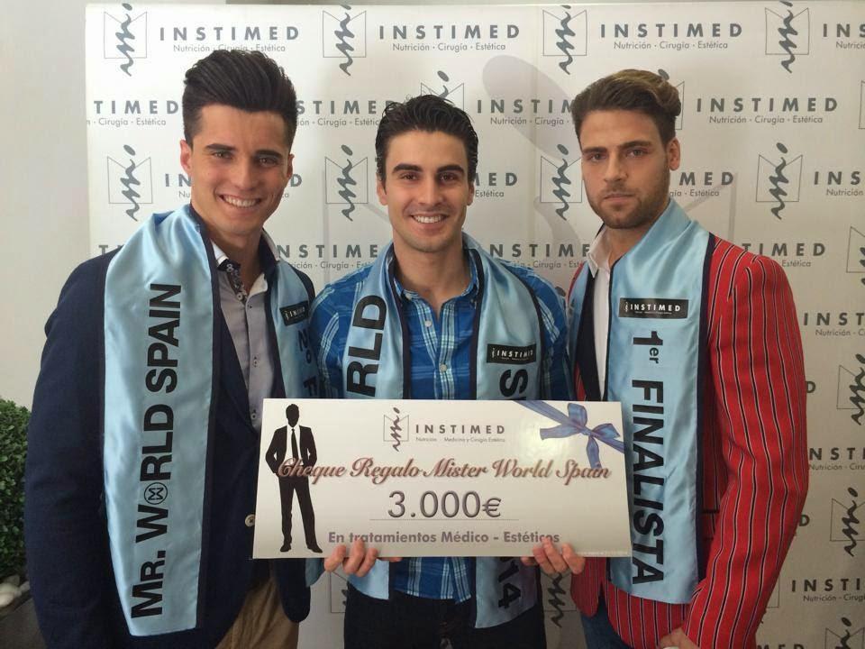 Jose Ignacio Ros is Mister World Spain 2014