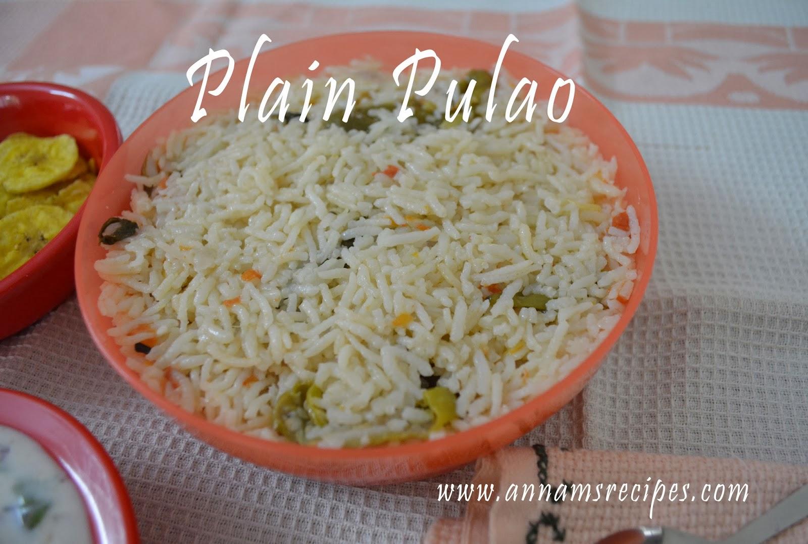 Plain Pulao