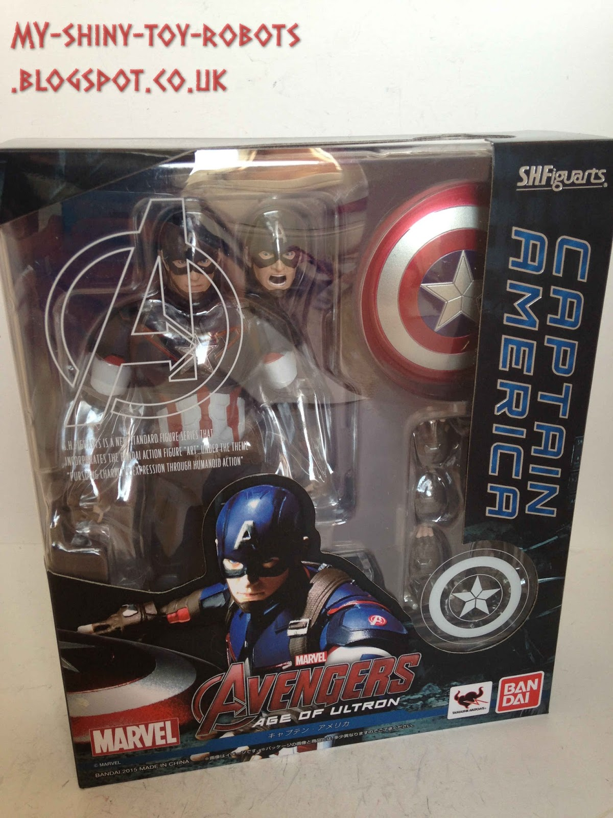 "The Avengers Captain America figma PVC figure toy movable 6/"" in Box"
