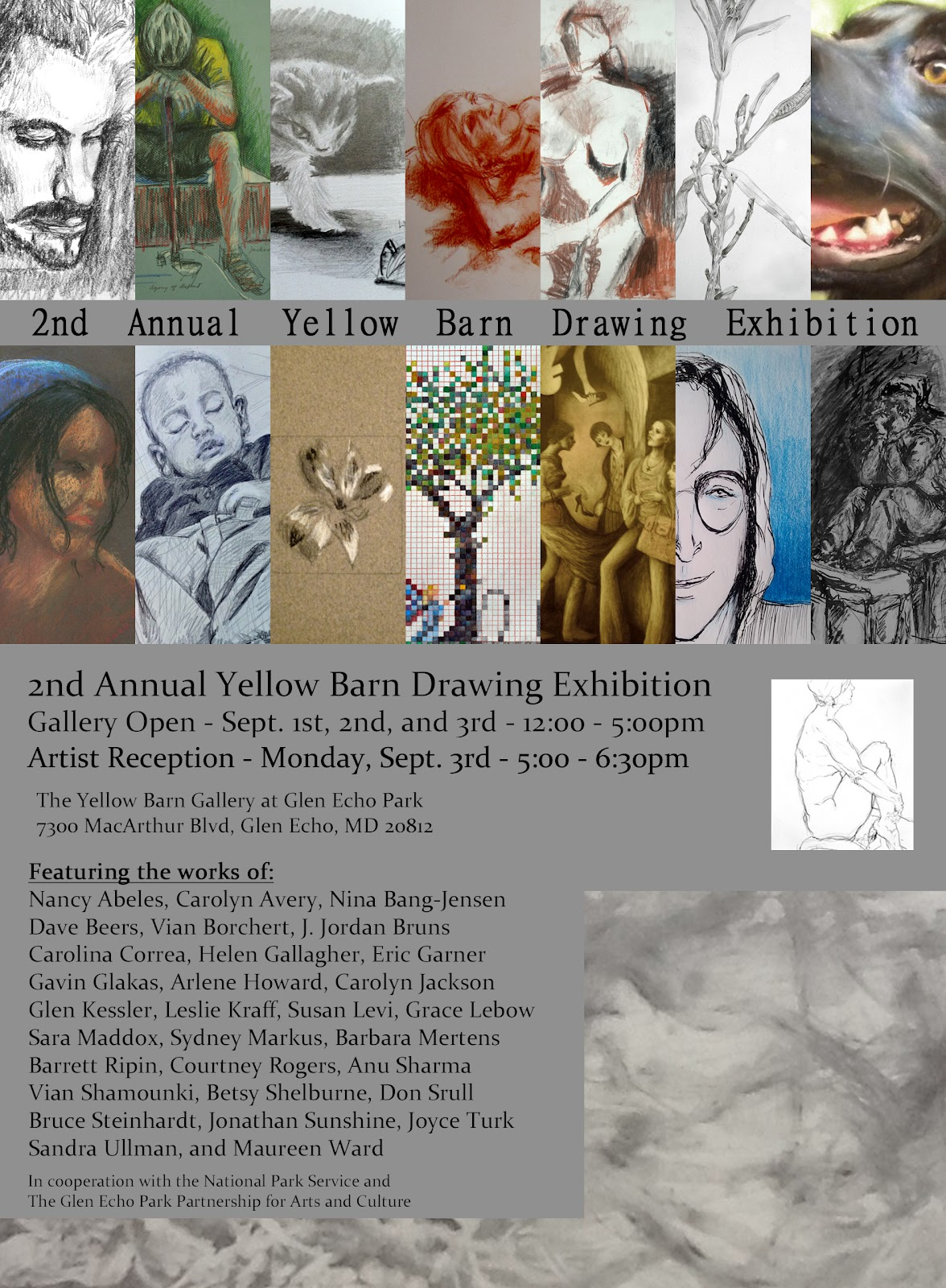 The Yellow Barn Studio And Gallery August 2012