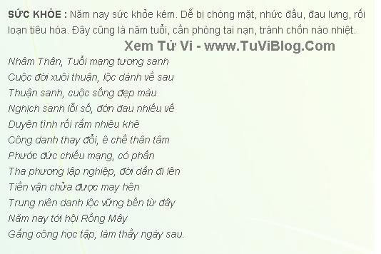 Tuoi Nham Than 1992 Nam Mang