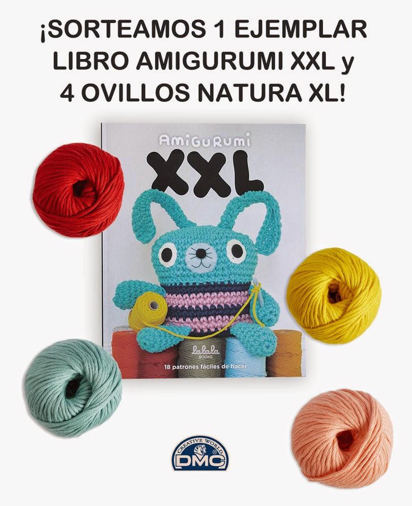 El blog de Dmc: Sorteamos el libro Amigurumi XXL de Lalala ...