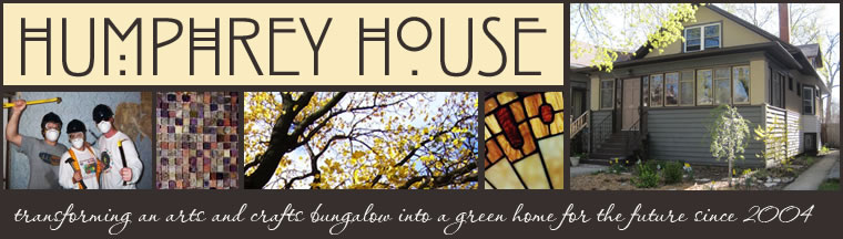 Humphrey House - Green Remodeling of an Arts and Crafts Bungalow