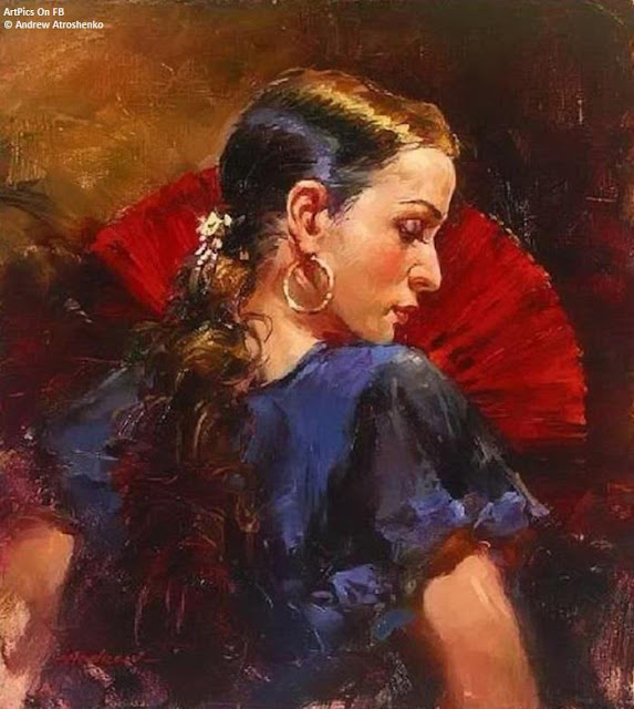 Andrew Atroshenko paintings illustration  Drawings  Women portrait