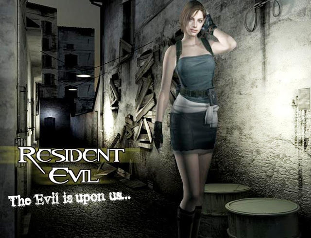 resident evil capcom horror third person shooter game