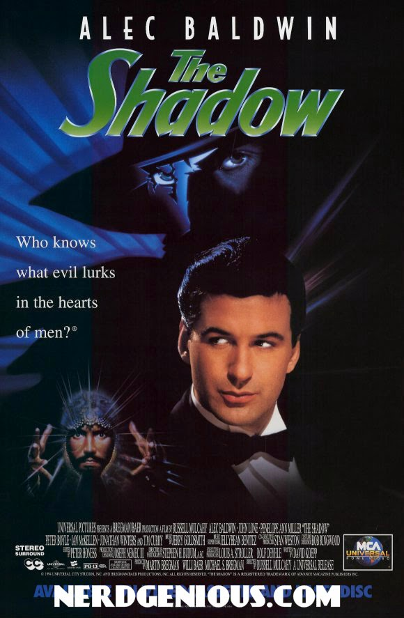 Alec Baldwin Shadow movie poster