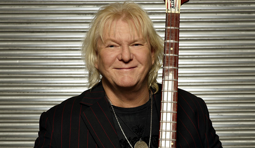 Chris Squire, baixista do Yes