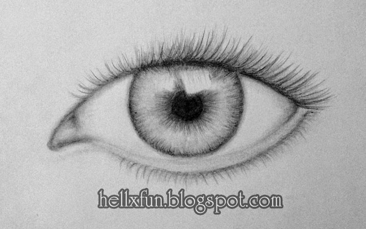 how to draw eyes step by step for beginners easy
