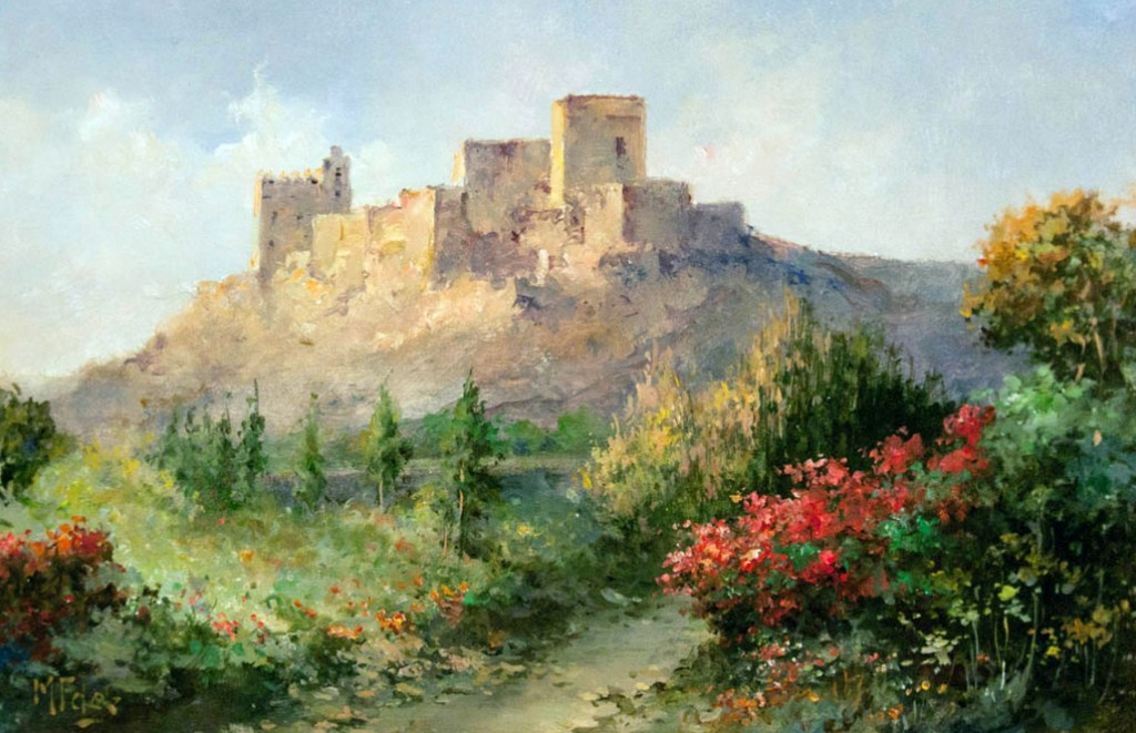 fotografias de cuadros de paisajes pintados al leo pintor de paisajes clsicos manuel fernndez garca paisajista espaol