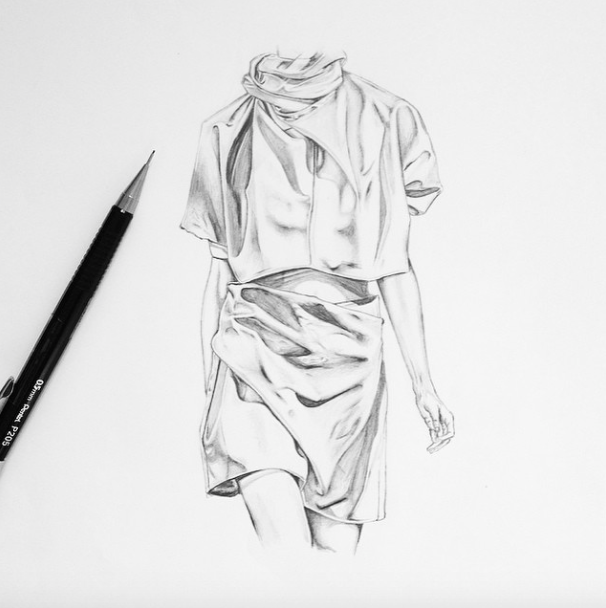 Famous Fashion Designers Sketches 2015