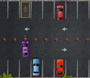 لعبة وقوف السيارات