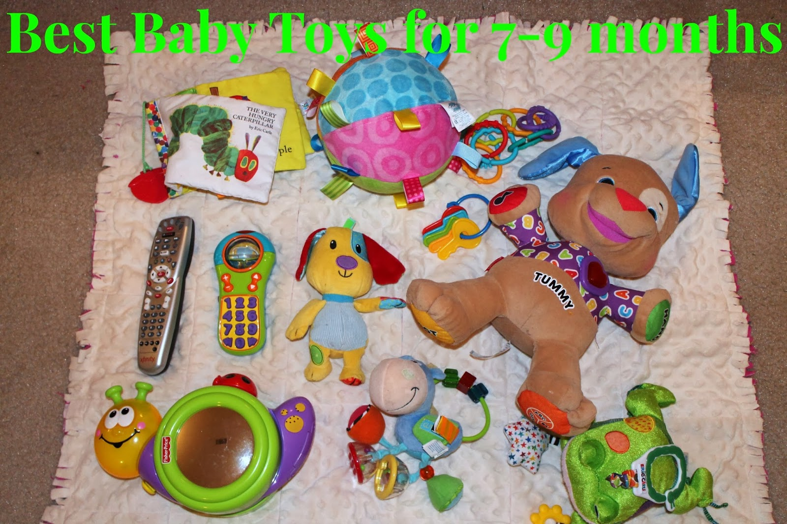 Toys For 4 Months : Polka dotty place best baby toys months