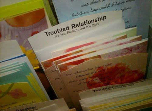 troubled relationship cards