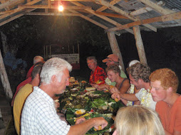 Group shot at Island Tongan feast