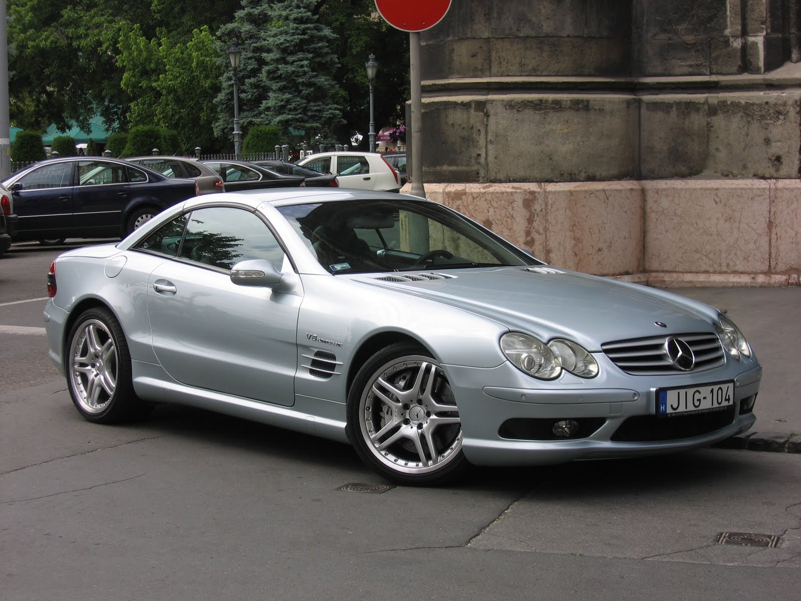 Mercedes benz SL 55 AMG