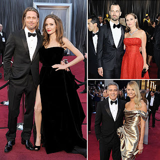 Oscars 2012 Best Dressed Couples