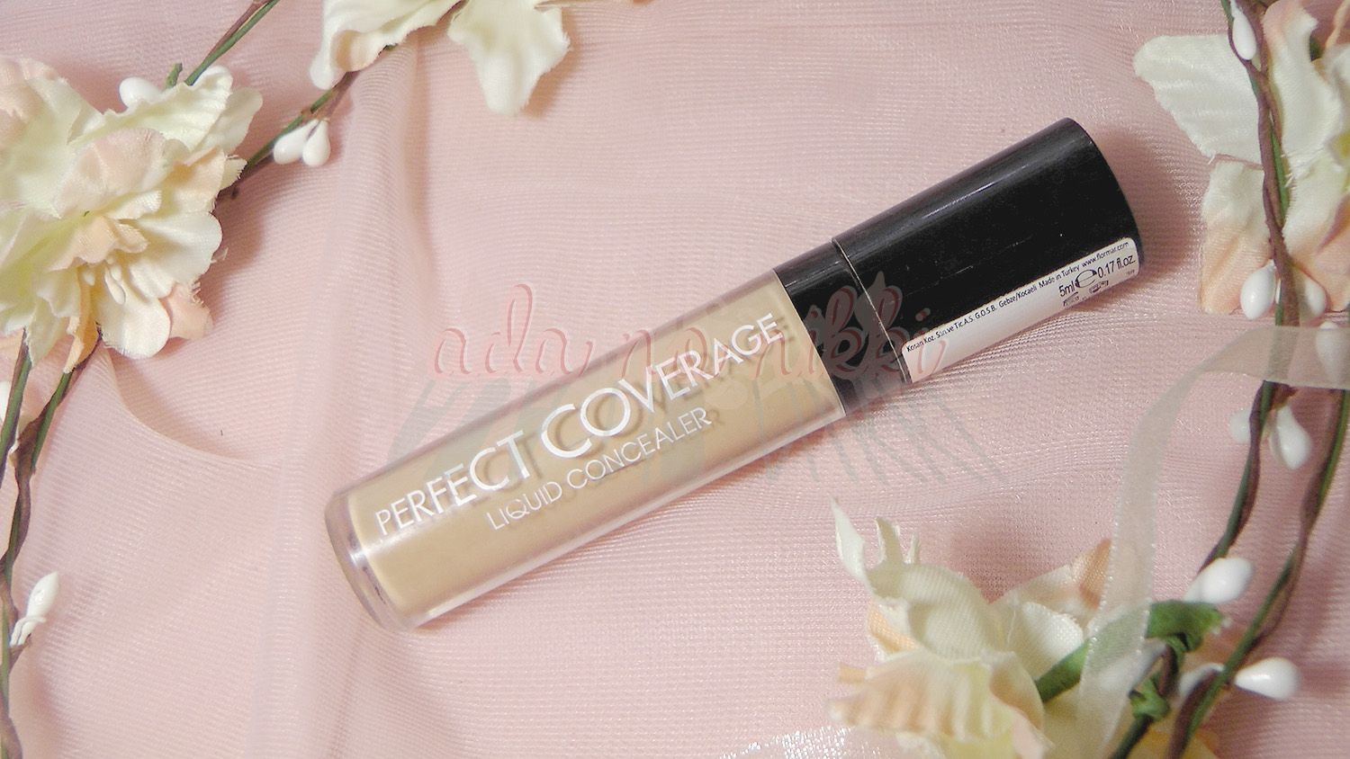 Flormar Perfect Coverage Liquid Concealer