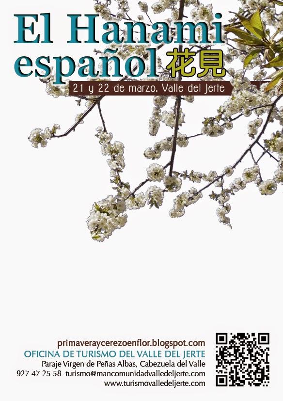 El Hanami español (21 y 22 de marzo en el Valle del Jerte)