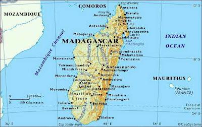Madagascar mapa