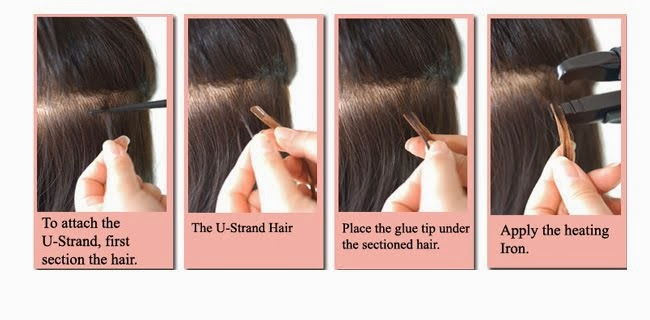 How to remove hair extensions properly