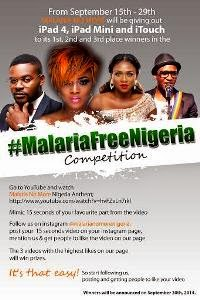 MalariaFreeNigeria contest