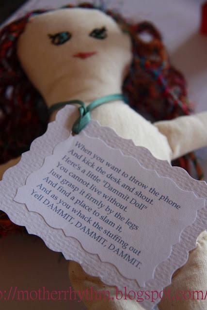 Knitting Pattern For Dammit Doll : Rhythm & Rhyme: Tutorials