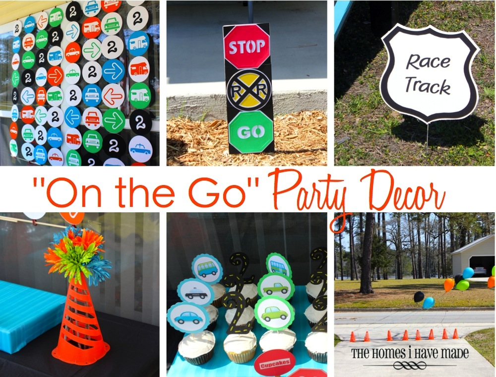Quot On The Go Quot Party Spotlight On Decor The Homes I Have Made