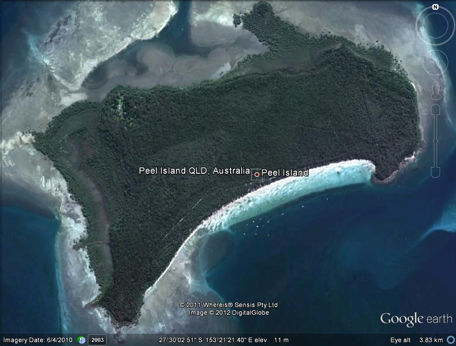 peel island how to get there