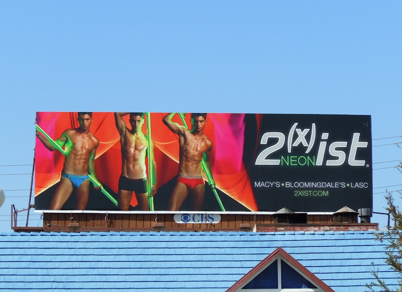 2xist neon male underwear billboard
