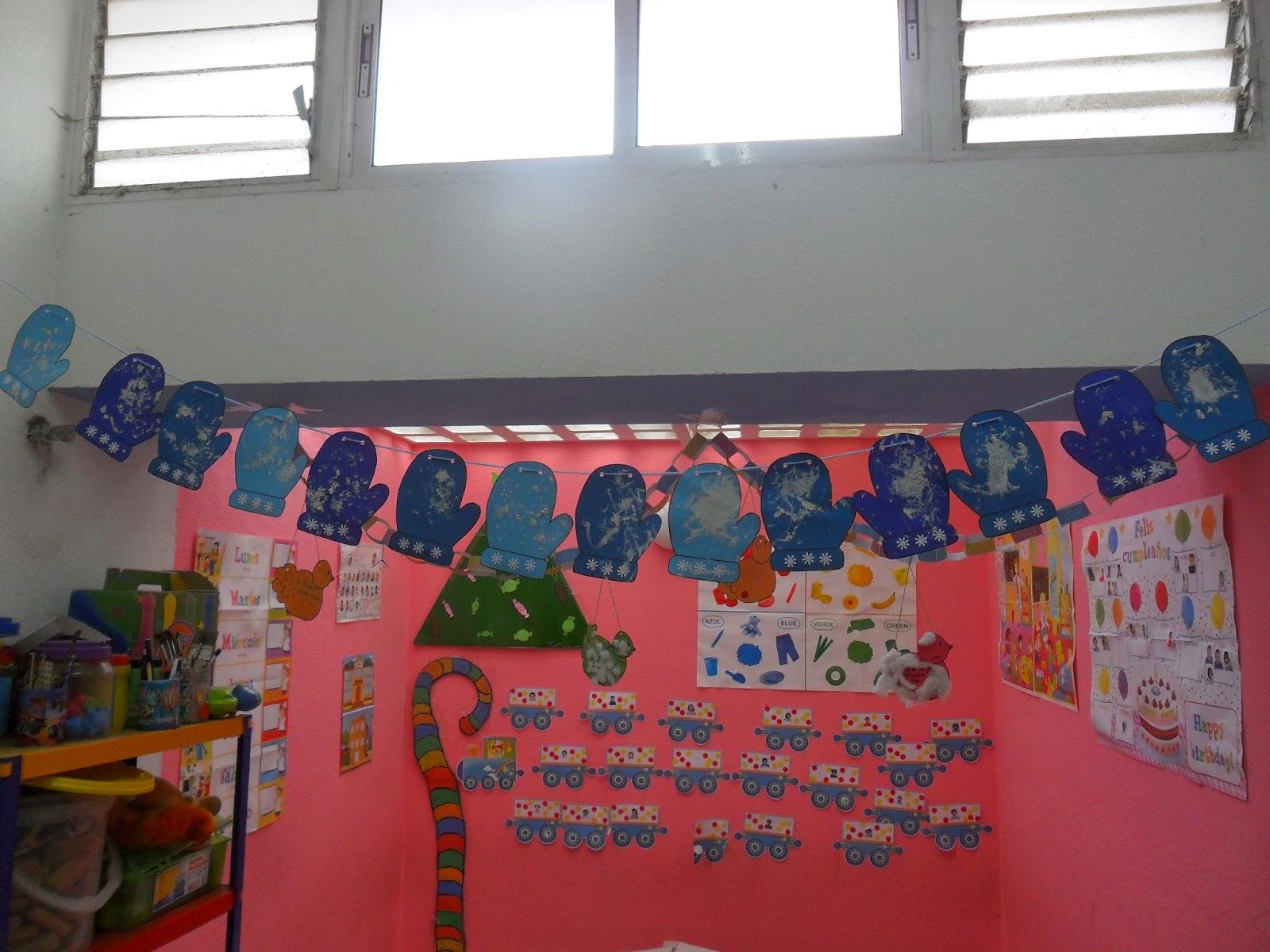 Decoracion Invierno Para Jardin Infantil ~ Materiales para Educaci?n Infantil GUANTES PARA EL INVIERNO