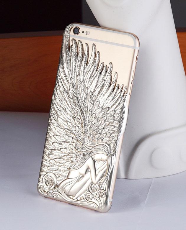 เคส bumper รุ่น angel wing สำหรับ iPhone 6 สีเงิน 2