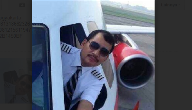 Pilot AirAsia Kapten Iriyanto