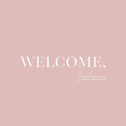 welcome-freshmen
