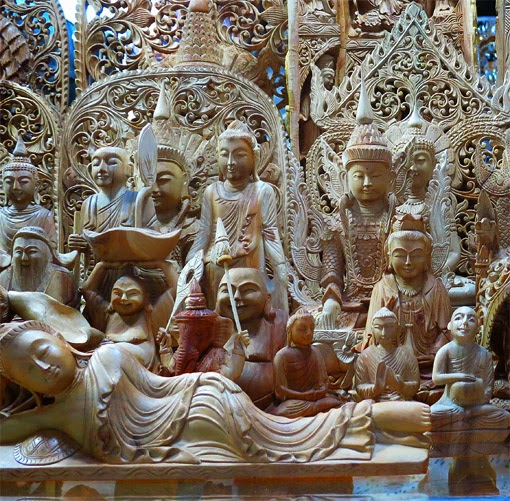 Sandal Wood carvings
