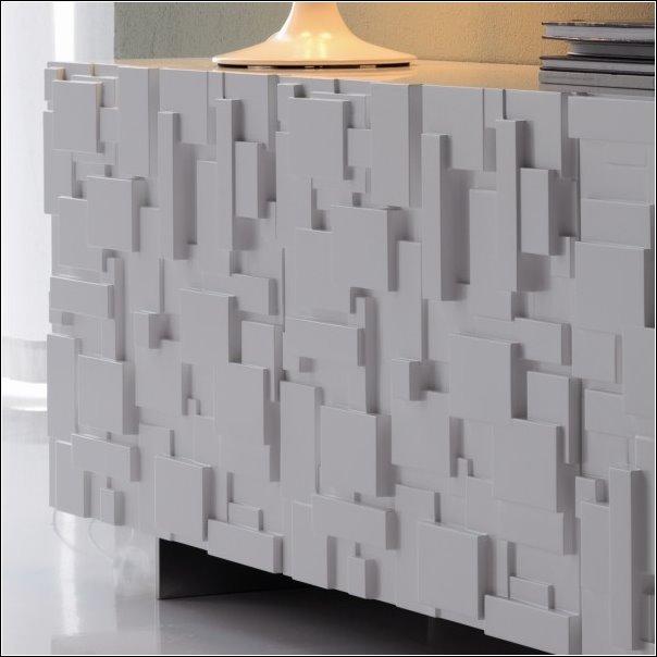 Arredaclick muebles italianos online aparador moderno for Puertas diseno italiano