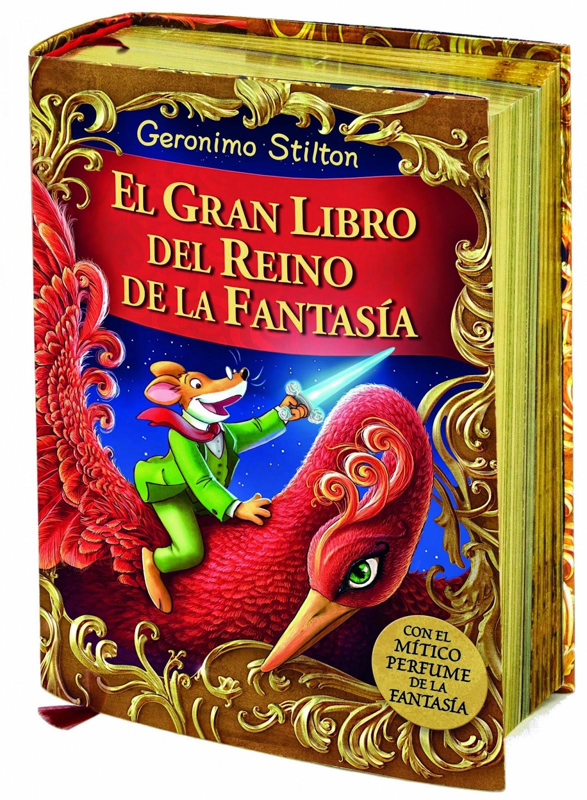 Ranking Semanal. Los diez libros más vendidos. Número 10. El Gran Libro del Reino de la Fantasía, de Geronimo Stilton.