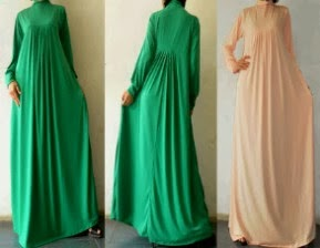 Gamis Jersey Rempel Camelia Dress | Azzahiidah Collections