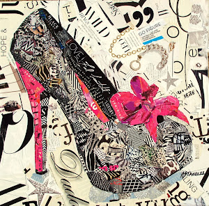 High Heel Collage Workshop