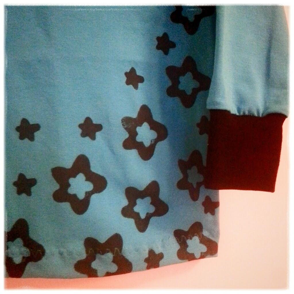 sy tryck kläder tröja mönster potatistryck inspiration