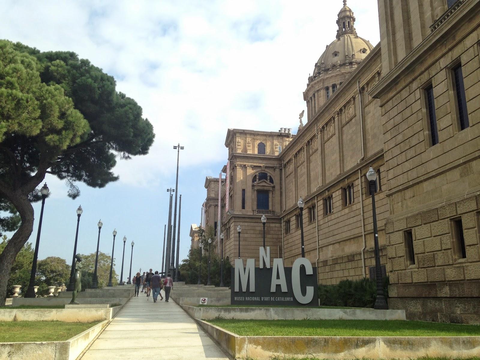 museo barcelona mnac catalunya arte monjuïc