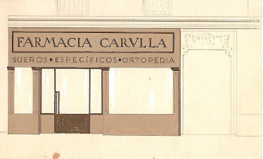 Publicitat de la Farmàcia Carulla