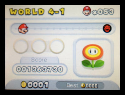 new super mario bros. 2 3ds lower screen reserve item